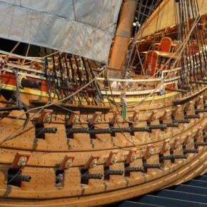 Ваcа — корабль-музей в Стокгольме