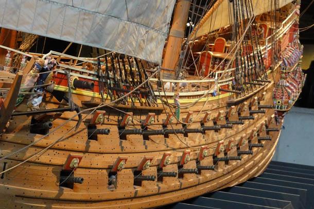корабль музей в Стокгольме