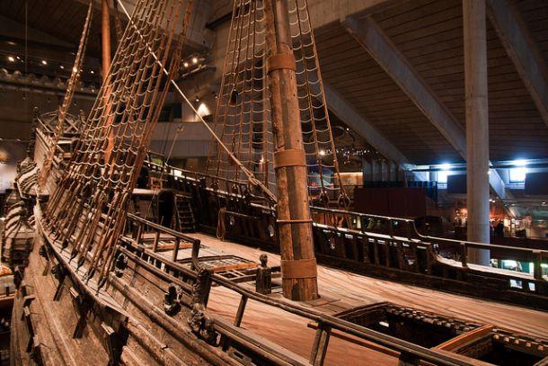 Корабль-музей, Стокгольм