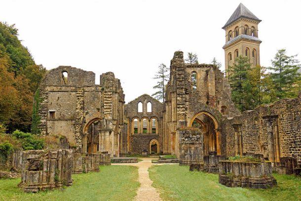 Руины аббатства Виллер