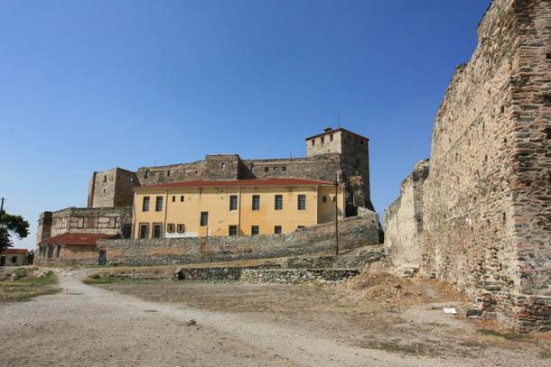крепость в Салониках