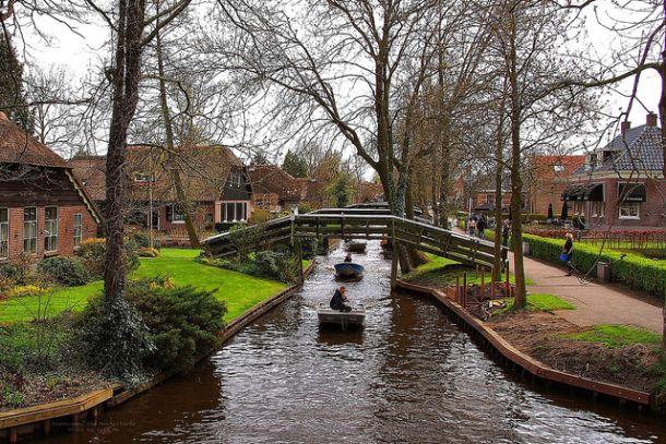 Каналы голландской Венеции