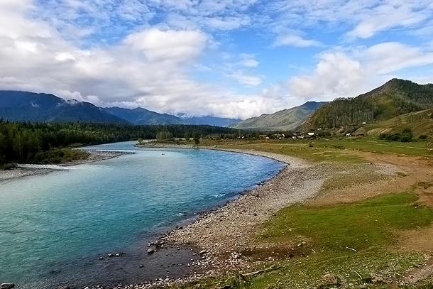 Река Кучерлы, Алтай