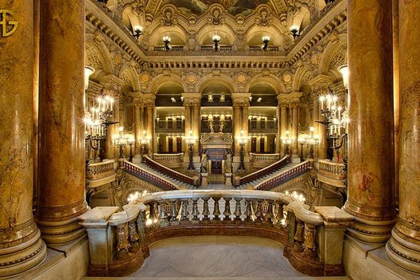 Фойе парижской оперы Гарнье