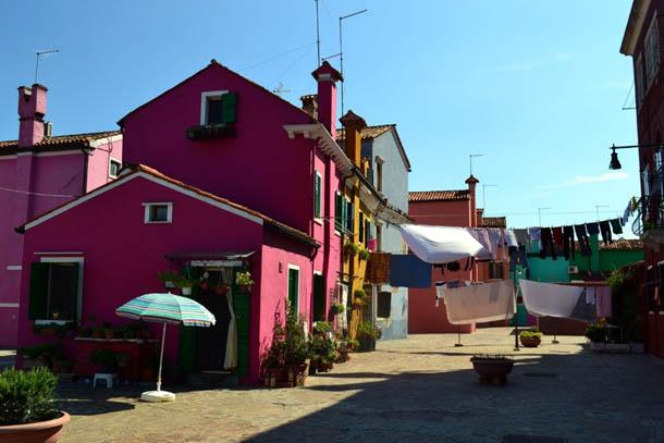 Венеция - остров Бурано