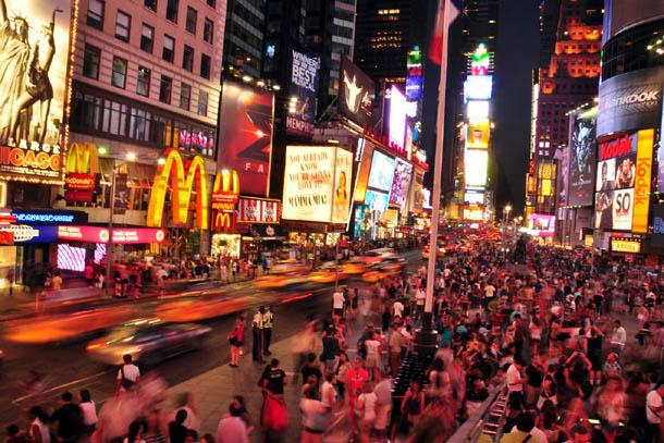 Тайм Сквер в Нью Йорке