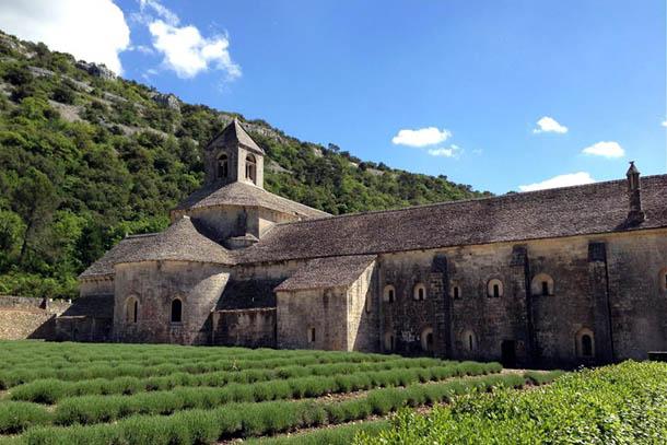 Прованс, аббатство Сенанк