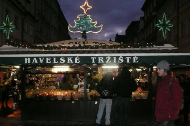 Рынок Хавель под Новый год