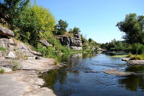 Букский каньон, Украина