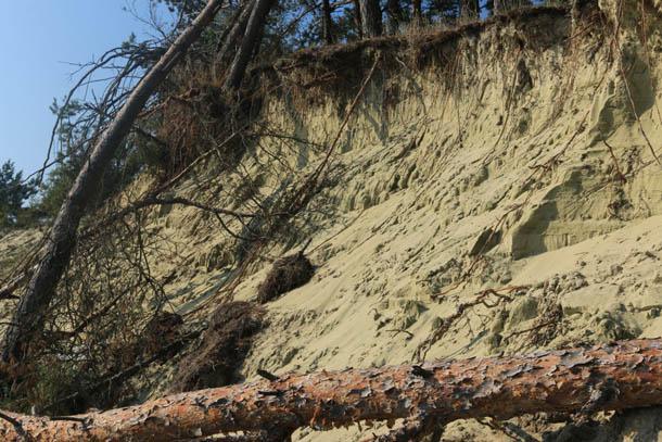 так осыпаются дюны