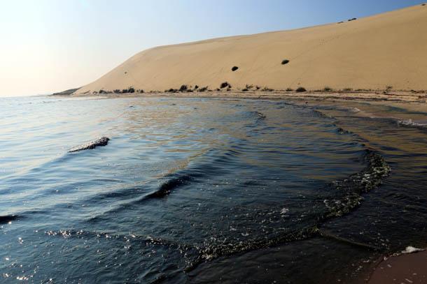 дюны и вода