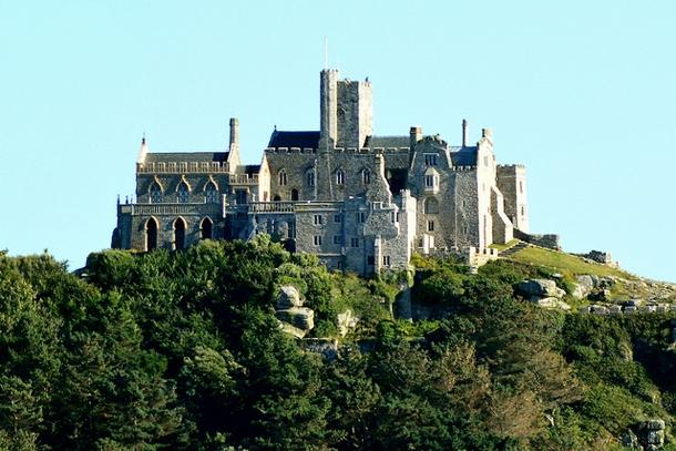 Монастырь на горе Святого Михаила в Корнуолле