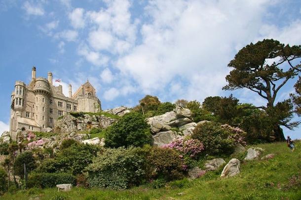 Гора Святого Михаила в Корнуолле