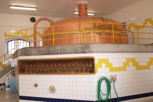 Экспозиция пивоварения