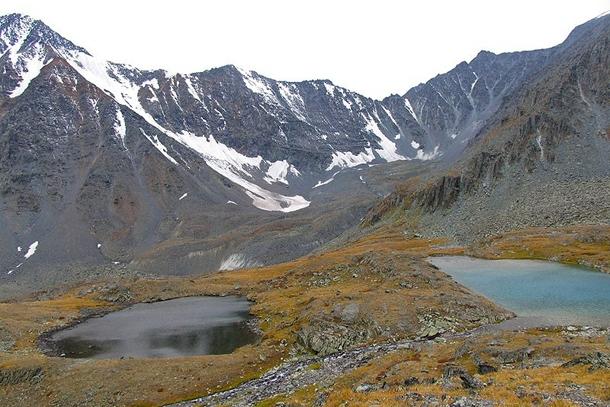 Черное и Желто-Бирюзовое озера