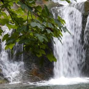 Водопад Камянка в Карпатах