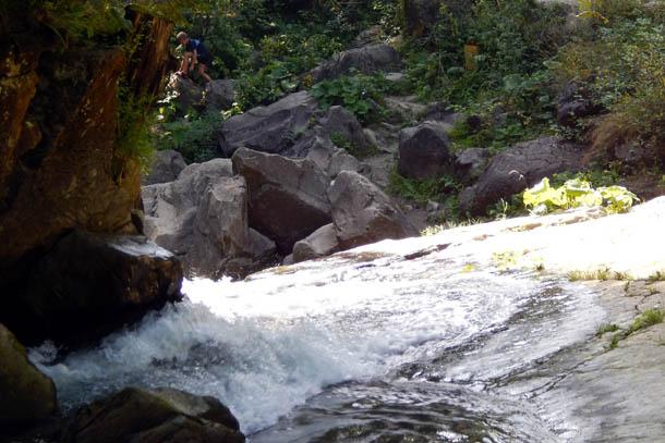 Речка перед водопадом