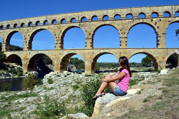 акведук Пон Дю гар. Франция