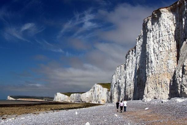 Меловые скалы Семь Сестер, Великобритания