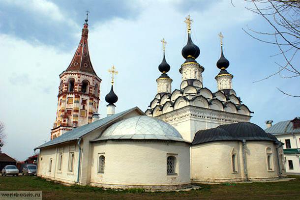 Лазаревская и Антипиевская церкви Суздаля