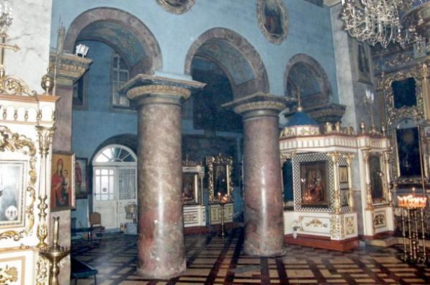 Внутреннее убранствоСпасского собора
