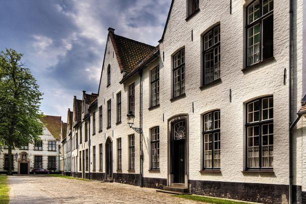 Монастырь бегинок в Брюгге