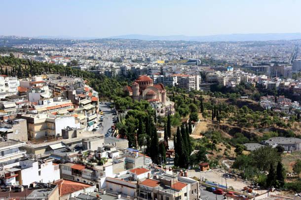 панорама Салоник