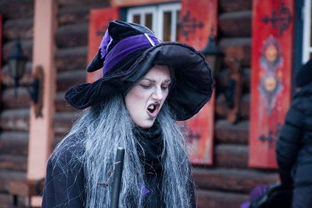 Ведьма в Томтэленде, Швеция