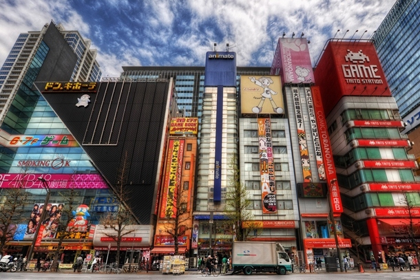 Магазины в квартале Акихабара