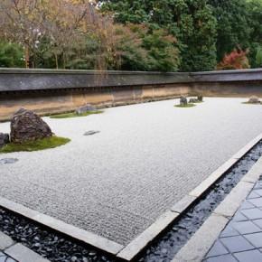 Cад камней Рёандзи в Киото