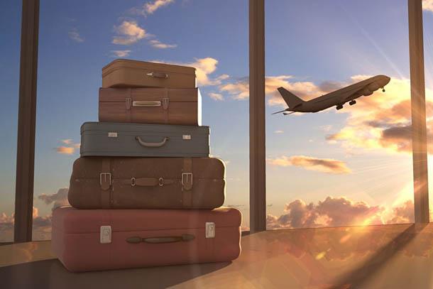 багаж перед вылетом
