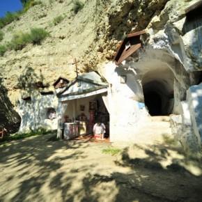 Бакота – скальный монастырь над рекой Днестр