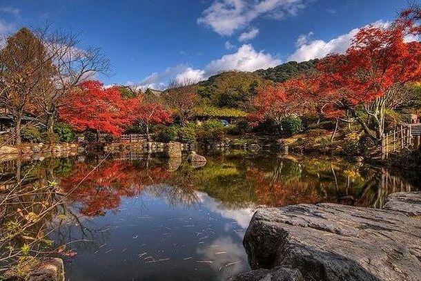 Парк Маруяма-Коен в Киото