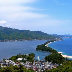 Аманохасидатэ — песчаная коса на севере Киото