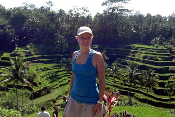 Остров Бали. Рисовые террасы