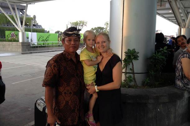 Убуд, о.Бали. Аэропорт, прощание с хозяином нашего дома