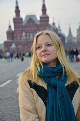 Моя первая прогулка по Красной площади спустя почти три года после отъезда.