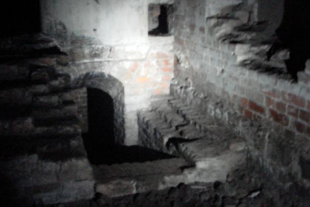 Подземные туннели Таракановского форта