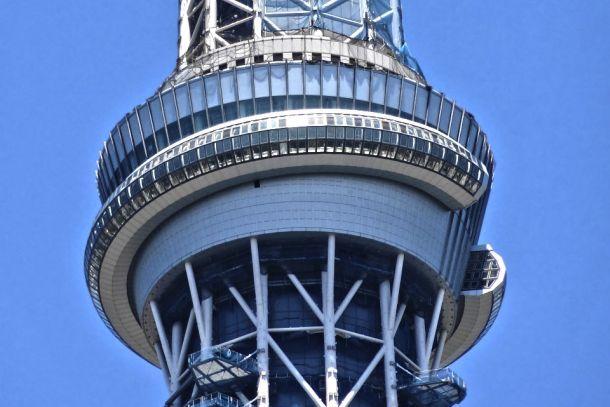 Спиральная смотровая площадка на высоте 450 метров