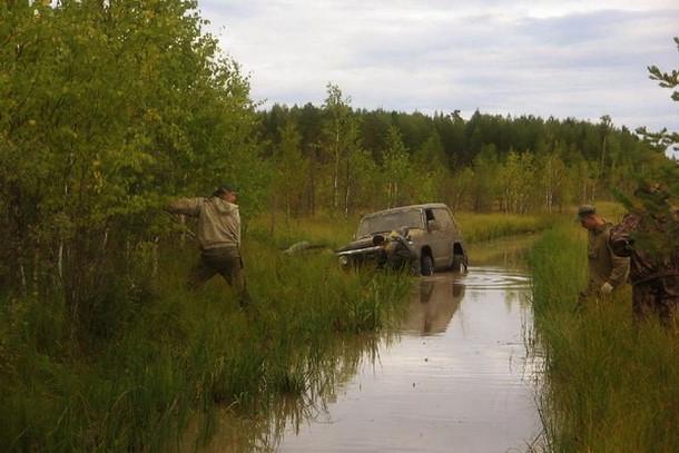 Джиппинг возле Адово озеро