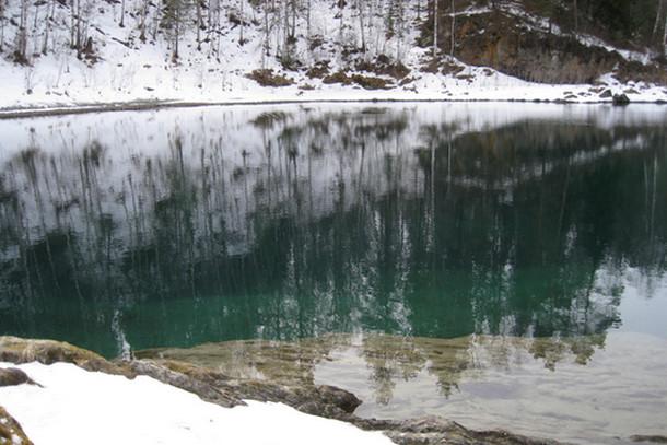 Голубые озера, горный Алтай