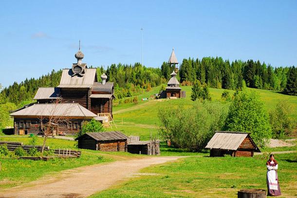 Хохловка — архитектурно-этнографический музей на Урале