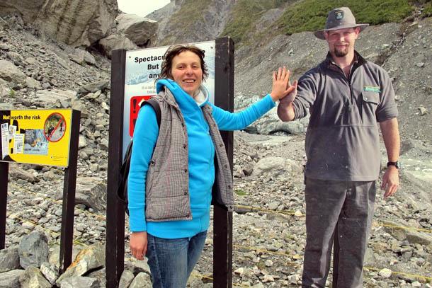 Ледник Фокса, Южный остров, Новая Зеландия