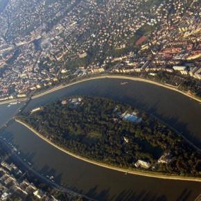 Маргит – изогнутый остров на Дунае