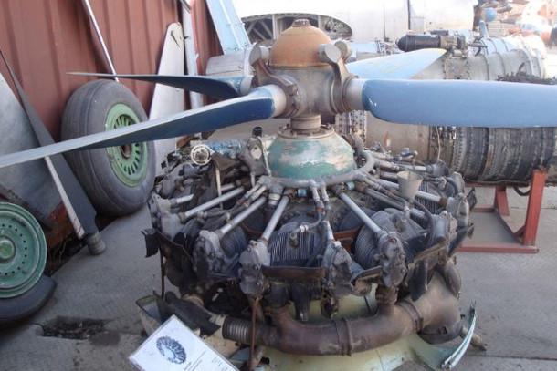 Музей авиации, двигатель