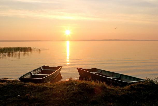 Плещеево озеро, закат