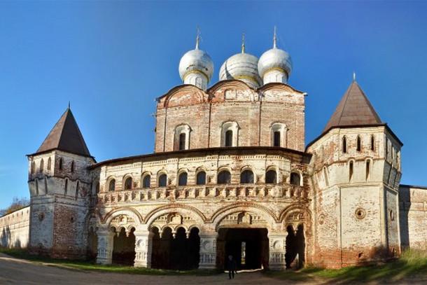Сергиевский надвратный храм, Борисоглебский монастырь