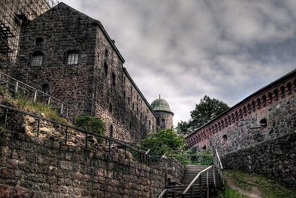 Выборгский замок, внутренний двор