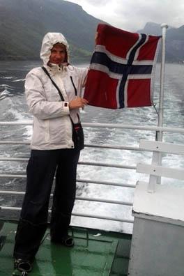 На судне во фьордах