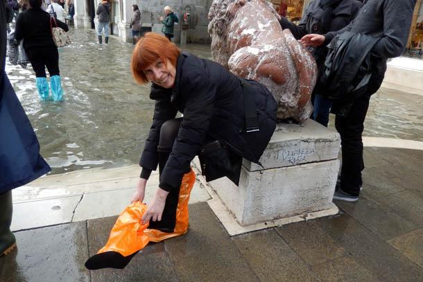 Венеция, аква альта